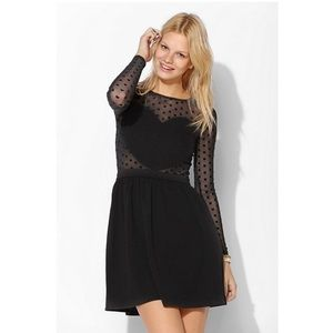 Cooperative/Urban Outfitters Mesh Heart Dress